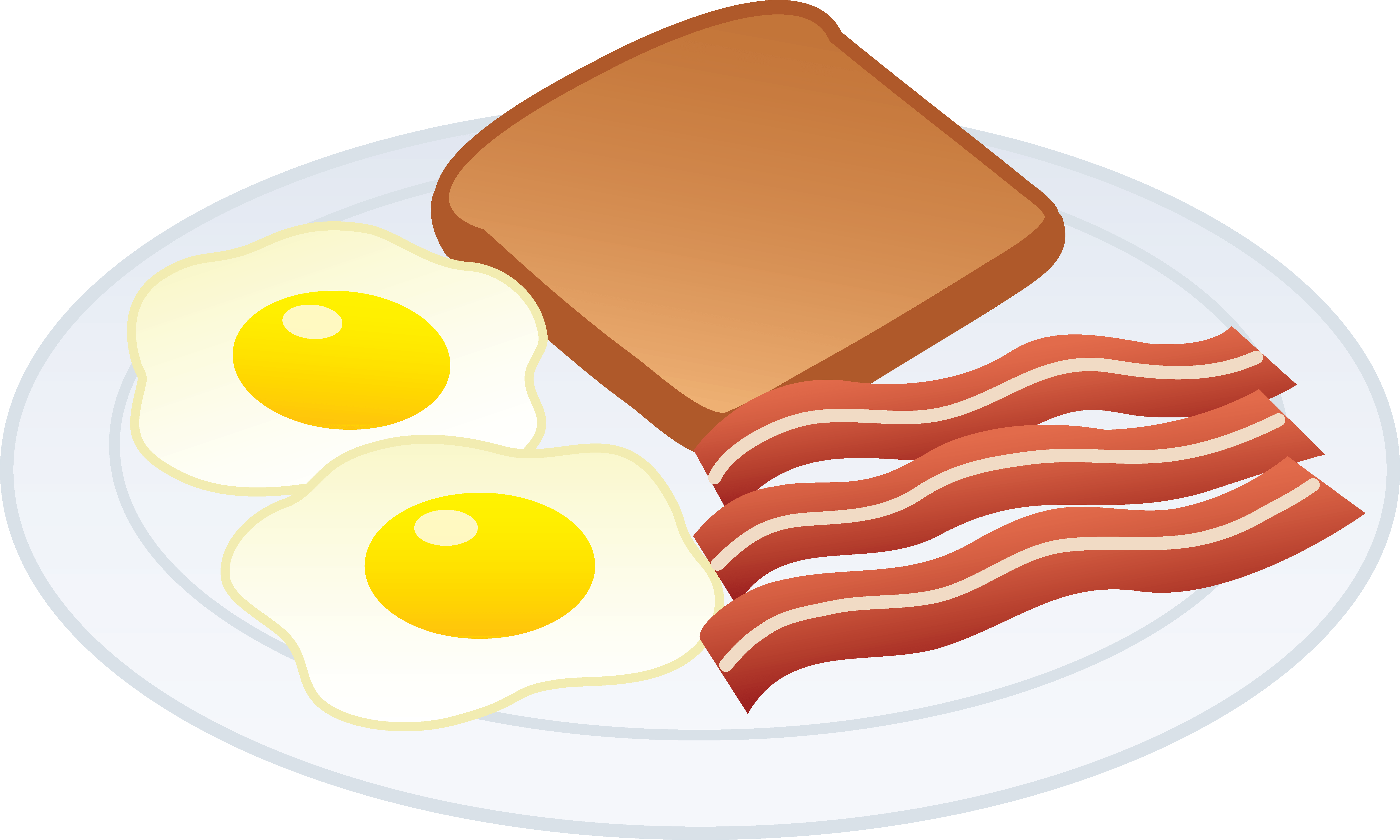 Cliparts zone. Bacon clipart fried egg