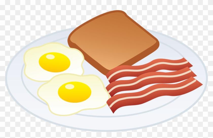 Bacon clipart fried egg. Png and eggs transparent