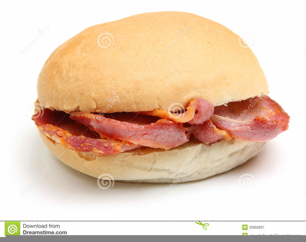 Sandwich free images at. Bacon clipart ham