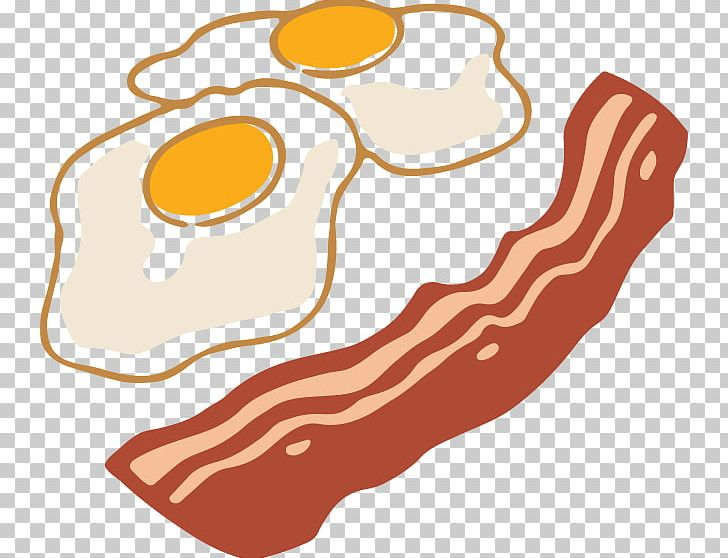 Bacon clipart ham. Fried egg breakfast png