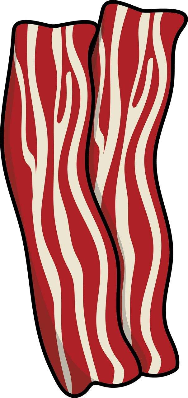 Bacon clipart jpeg. Channel distribution gifts en
