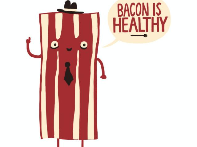 X free clip art. Bacon clipart one piece