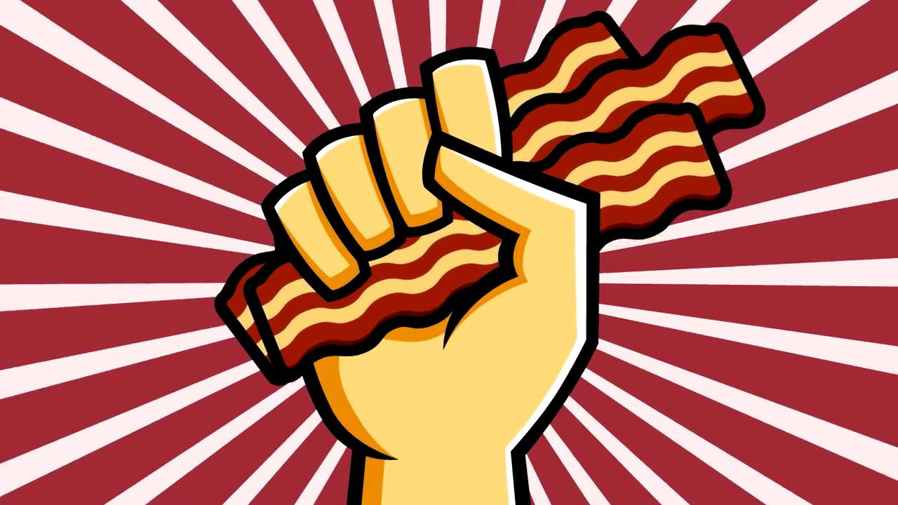 Oscar mayer dating app. Bacon clipart person