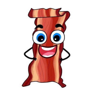 Wanna wannabacon twitter. Bacon clipart person