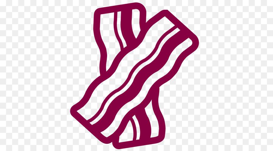 Dog font transparent clip. Bacon clipart pink food
