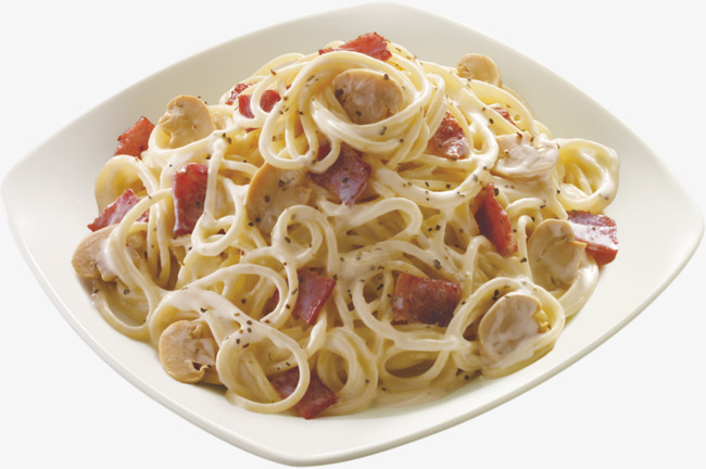 Braised pasta cheese italy. Bacon clipart pork food