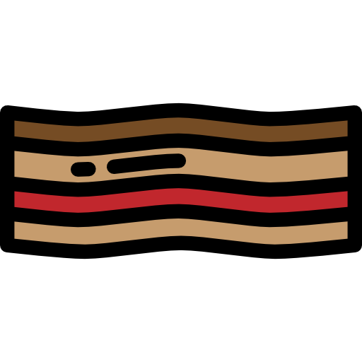 Icon png svg . Bacon clipart protein