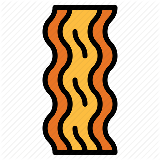 Barbecue grilled meat proteins. Bacon clipart protein