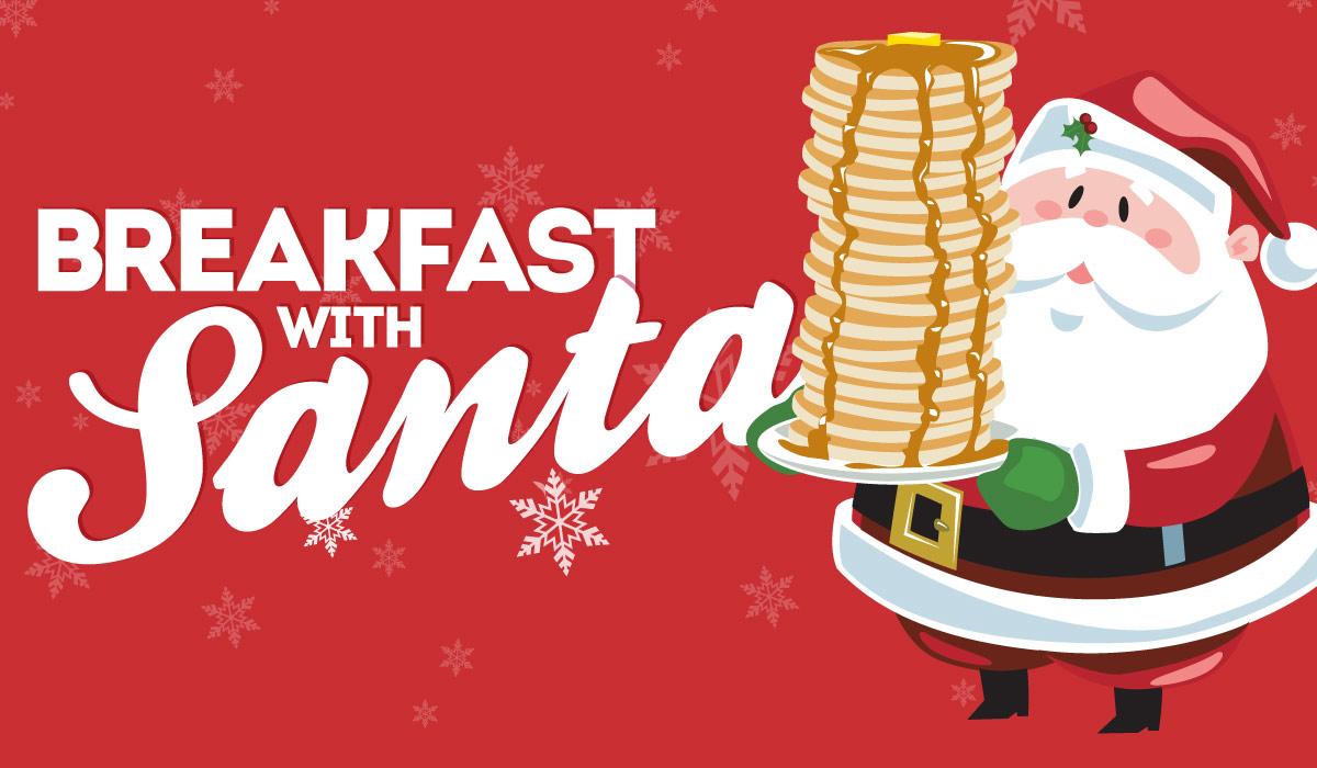 Bacon clipart santa breakfast. With at bogeys bogey