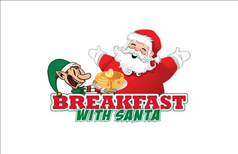 Bacon clipart santa breakfast. With attie s bar