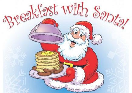 Bacon clipart santa breakfast. Sameadowlands ca with come