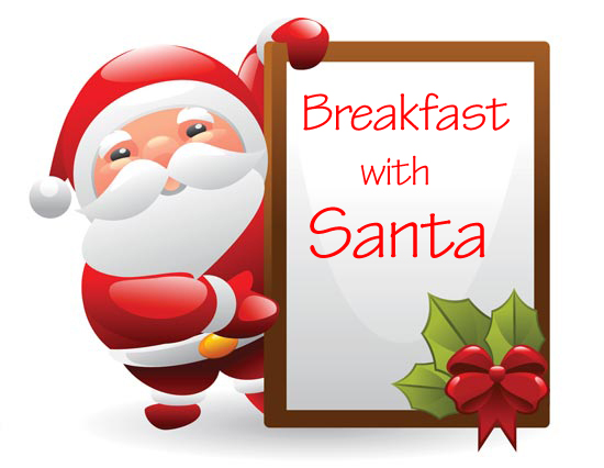 With in leesburg va. Bacon clipart santa breakfast