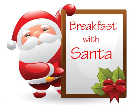 Bacon clipart santa breakfast. Free holiday cliparts download