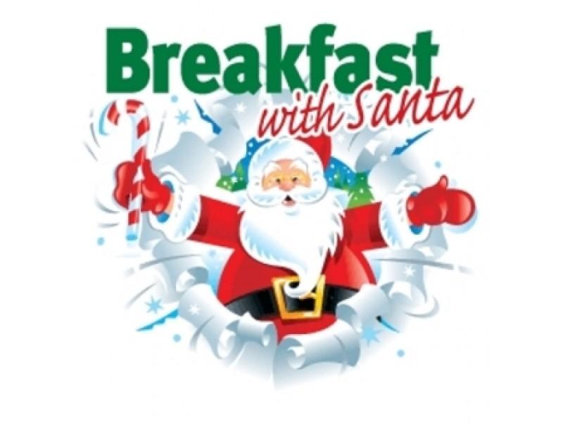 With december th galloway. Bacon clipart santa breakfast