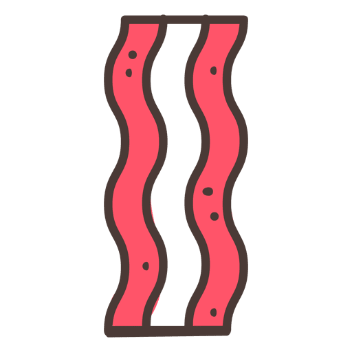 Stroke icon food transparent. Bacon clipart svg
