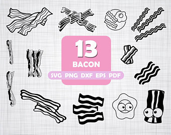 And file etsy . Bacon clipart svg