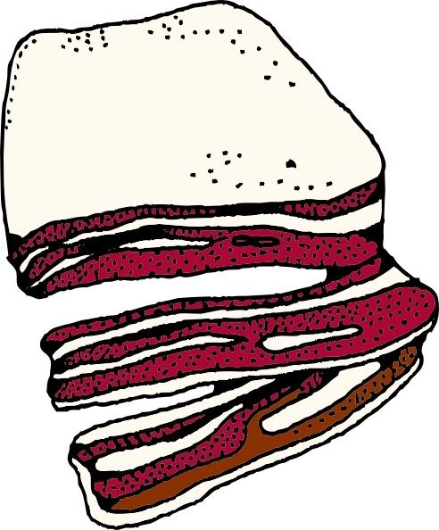 Bacon clipart svg. Clip art free vector