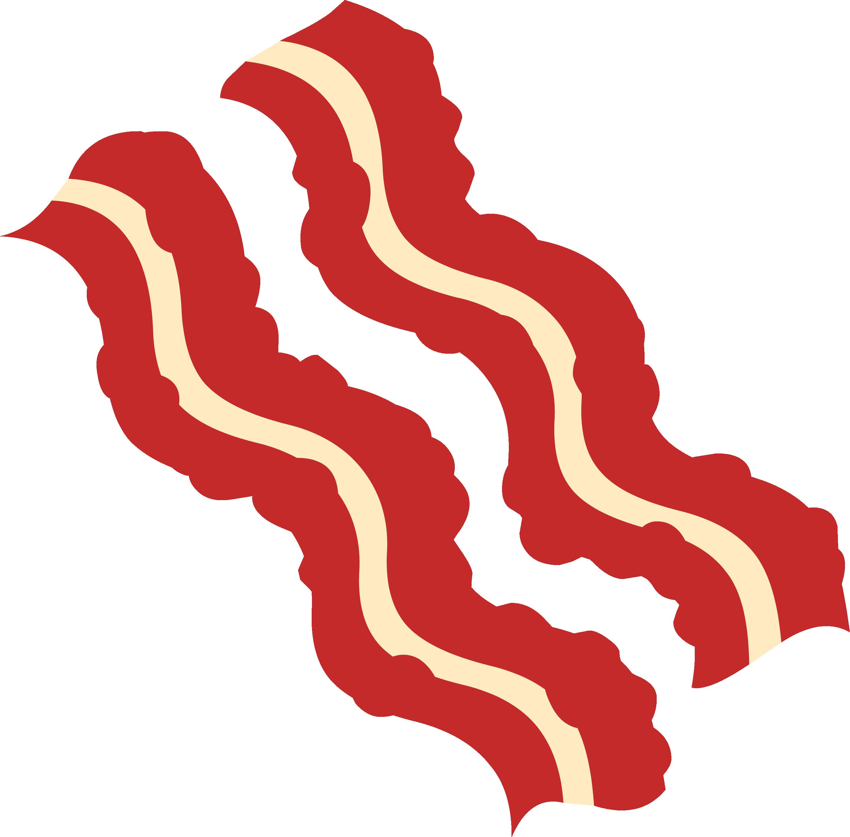 Clip art portable network. Bacon clipart transparent background