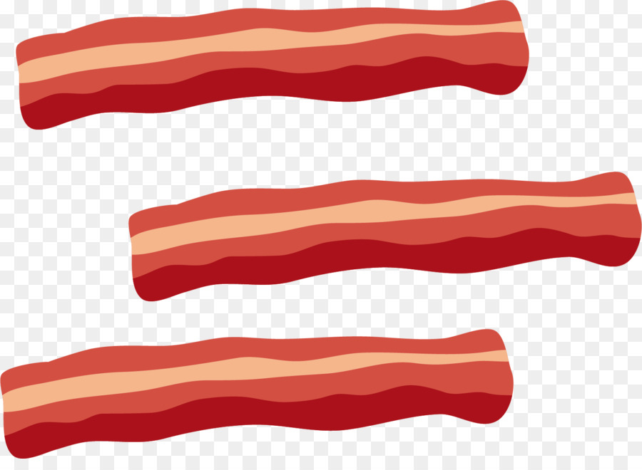 Bacon clipart transparent background. Red meat clip art