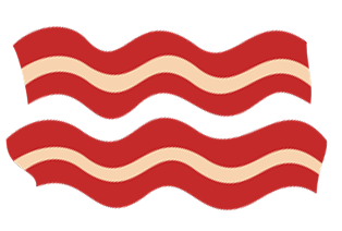 Png free download best. Bacon clipart transparent background