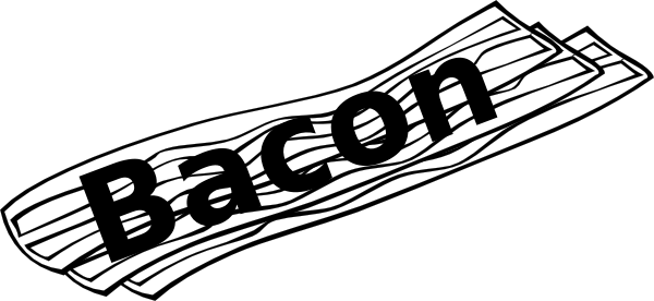Bacon clipart vector. Free cliparts download clip