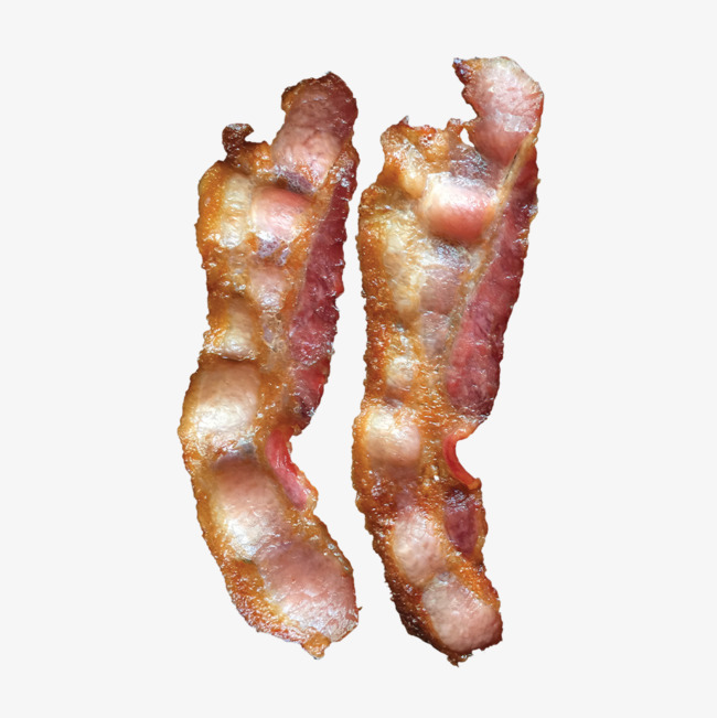 Decoration meat png image. Bacon clipart vector