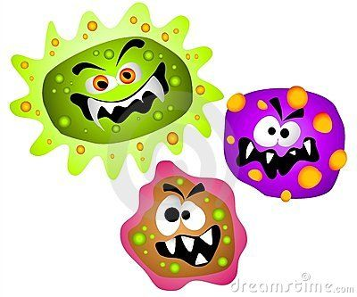 Germs viruses bacteria download. Bad clipart microbe