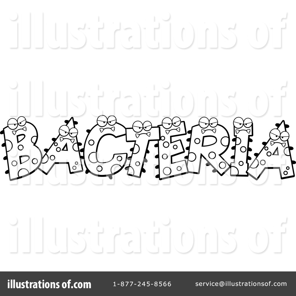 Illustration by cory thoman. Bacteria clipart black and white