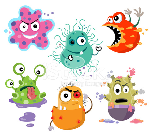 Hungry stock vector freeimages. Bacteria clipart coccus bacteria