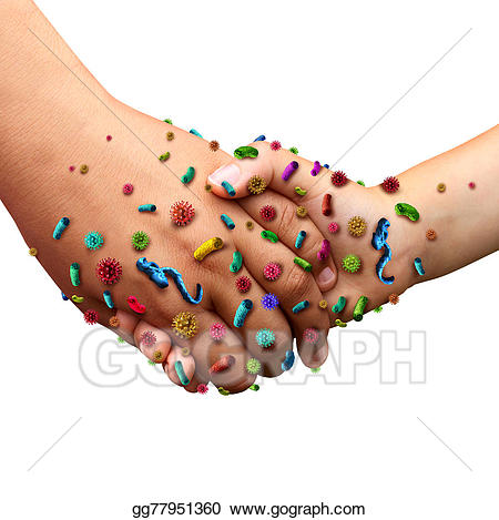 Bacteria clipart disease. Stock illustration infectious diseases