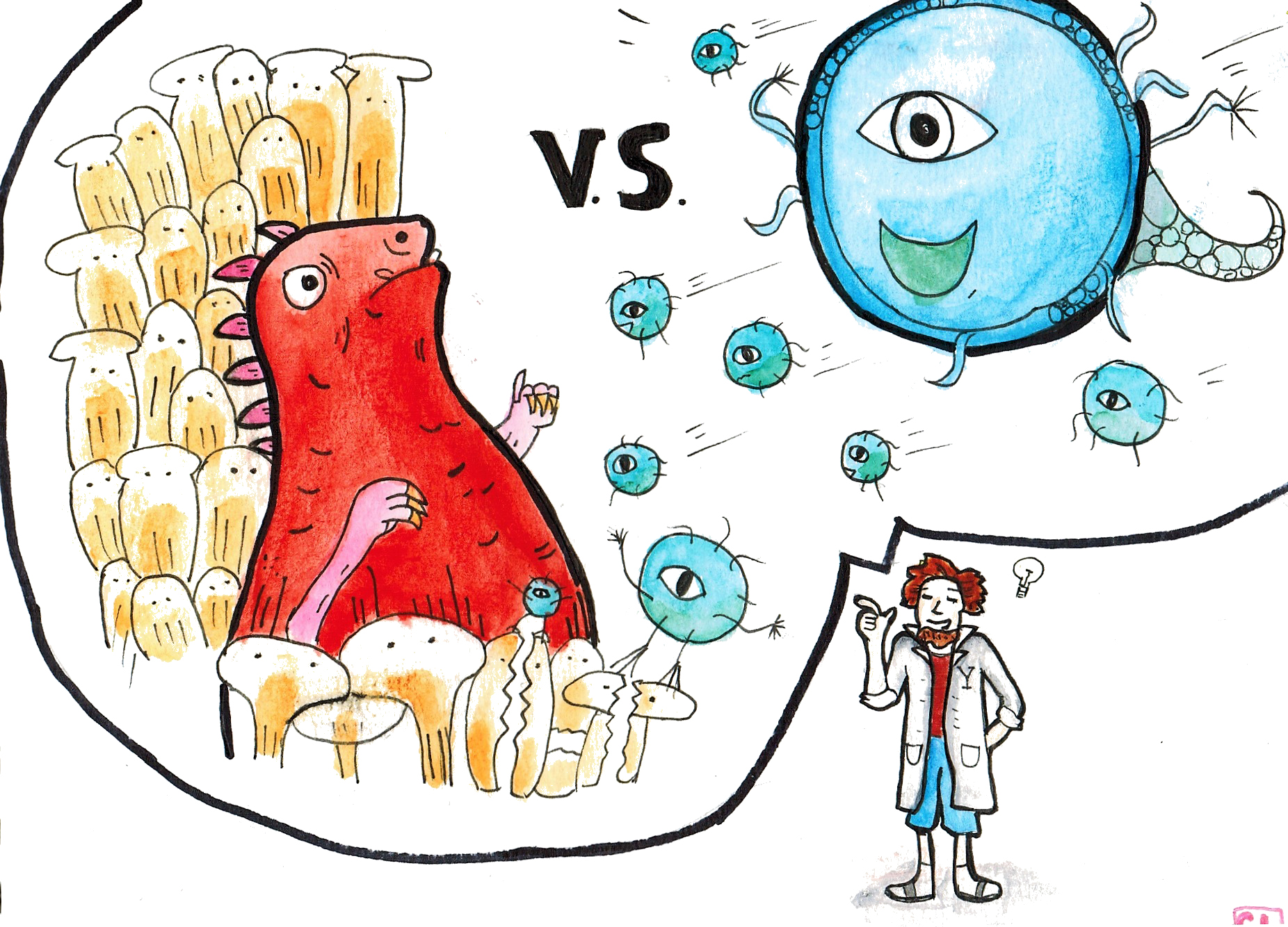 Bacteria clipart fungal infection. Researchers engineer molecules to