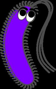 Funny clip art at. Bacteria clipart happy
