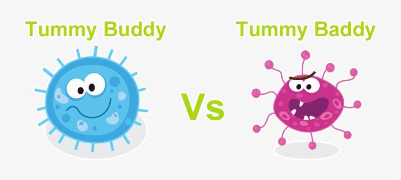 Bacteria clipart harmful bacteria. Good vs bad