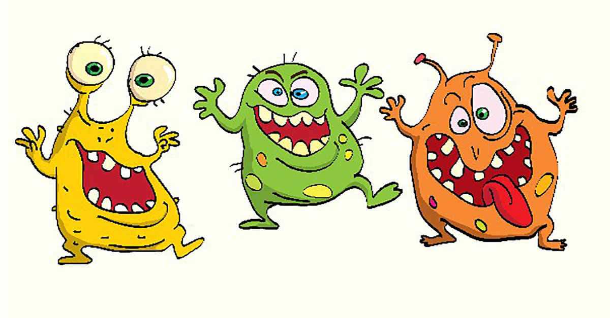 Bacteria clipart harmful bacteria. Blog in raw meat