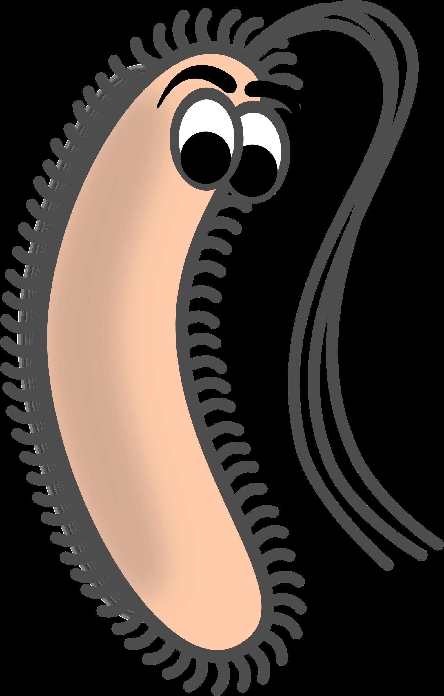 Bacteria clipart listeria. Funny bacillus big image