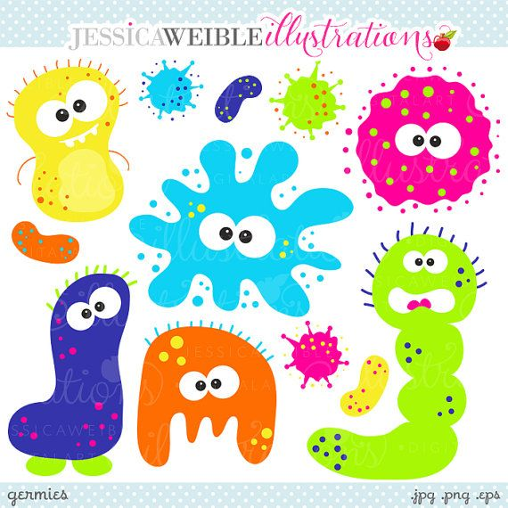 Germs clipart food microbiology. Pin on classroom ideas