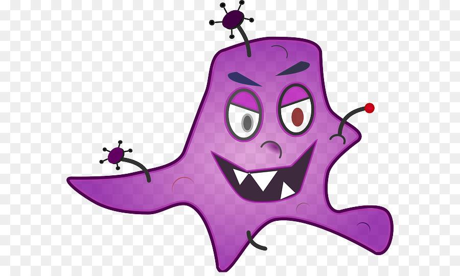 Germ theory of disease. Bacteria clipart microorganism