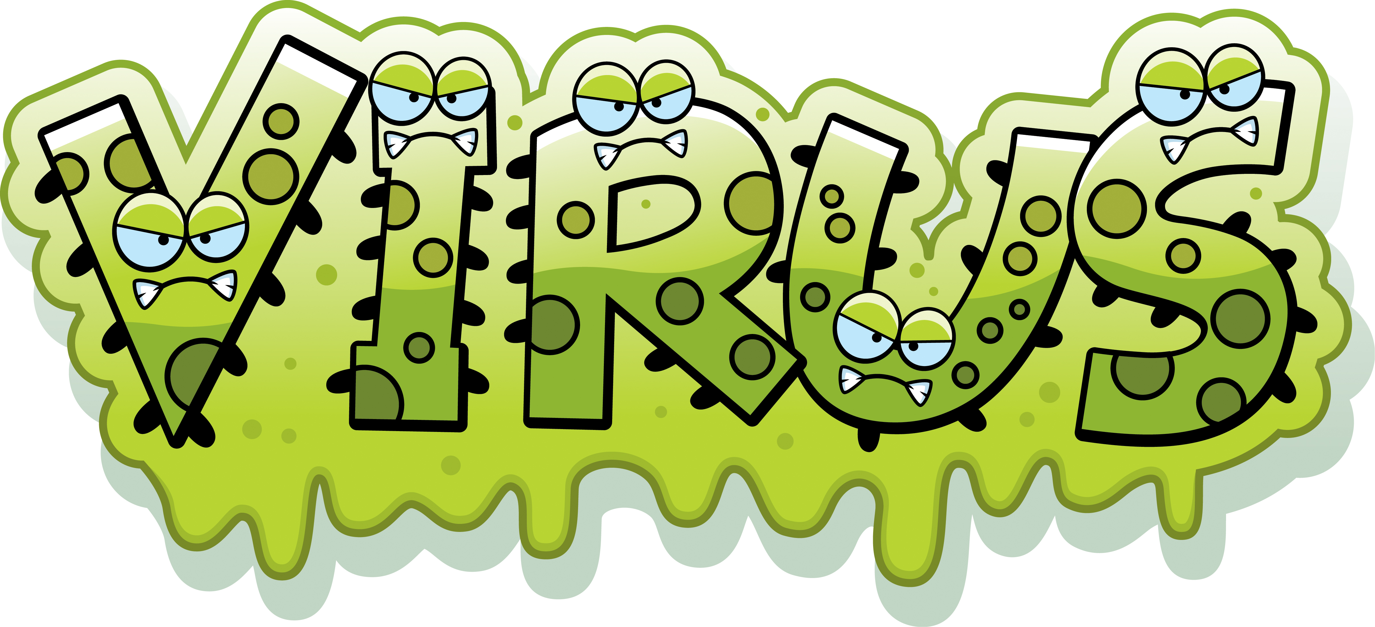 Four common ways infections. Bacteria clipart viral infection
