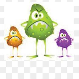 Bacteria clipart viral infection. Microorganism gut flora immune