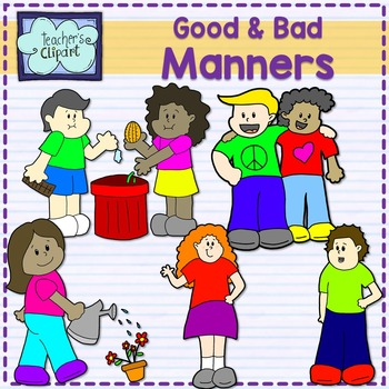 Good and bad manners. Yelling clipart manner