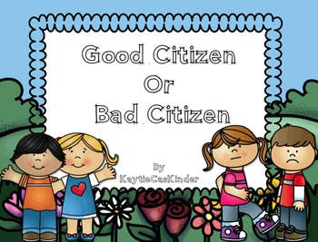 Good or by kaytiecaskinder. Bad clipart bad citizen