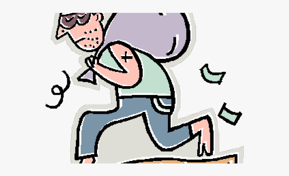 Bad clipart bad deed. Fighting robbery india times