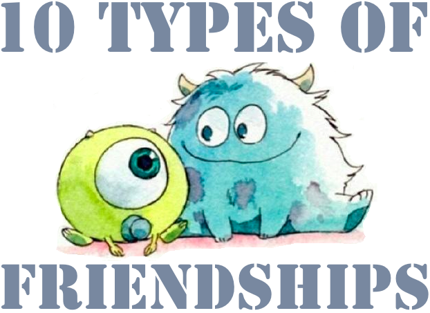 types of friends. Bad clipart bad friendship