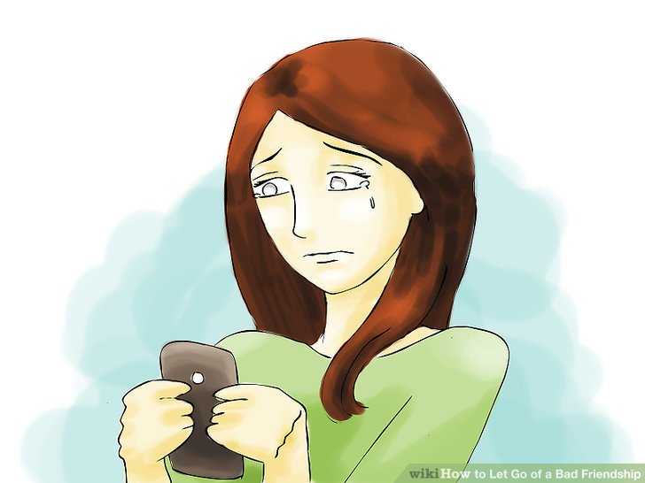 Bad clipart bad friendship. How to let go