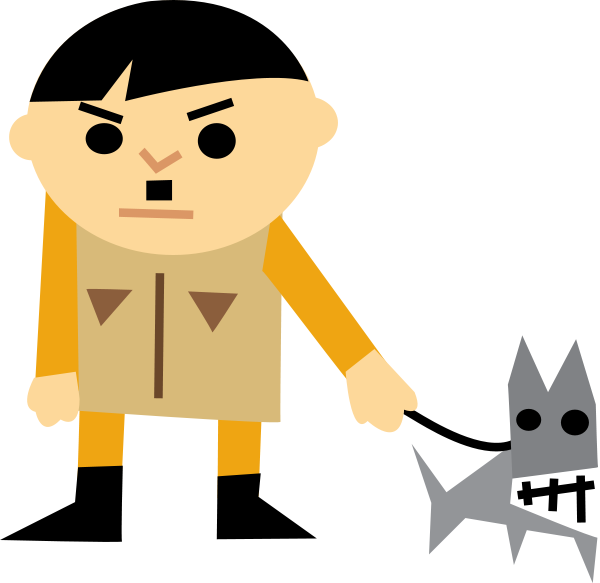 Person . Bad clipart bad guy