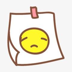 Bad clipart bad mood. Notes cartoon png image