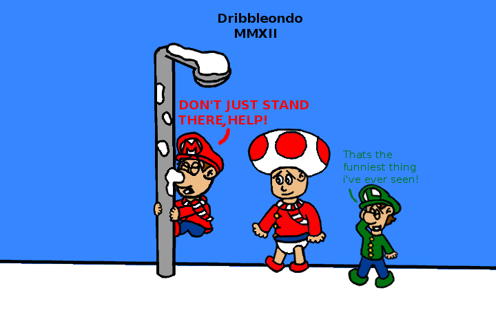 Baby mario by dribbleondo. Bad clipart bad situation