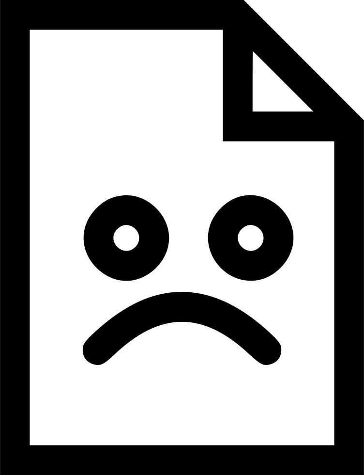 Bad clipart bad situation. File emoji emotion sad