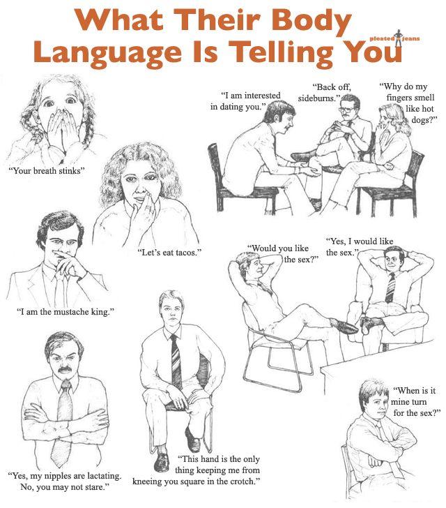 Bad clipart body language.  best basics images