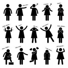 Bad clipart body language. Positive traits in and